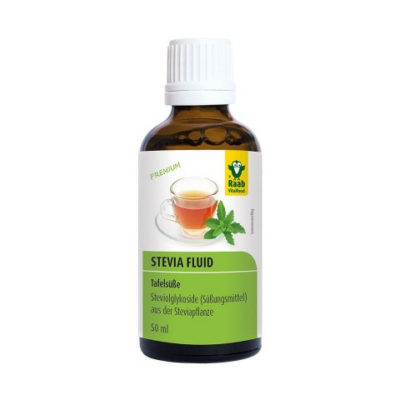 Stevia cseppek 50 ml Raab Vitalfood