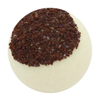 Bio, vegán fürdőkrém golyó, csokoládé illattal 50 g Velvety Manufaktur