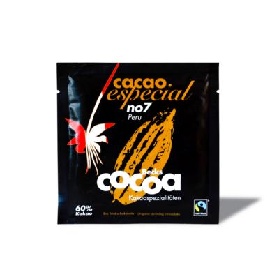 Csokoládéital por BIO, FAIRTRADE, VEGÁN, 60 % kakaóval (beckscocoa) 25 g