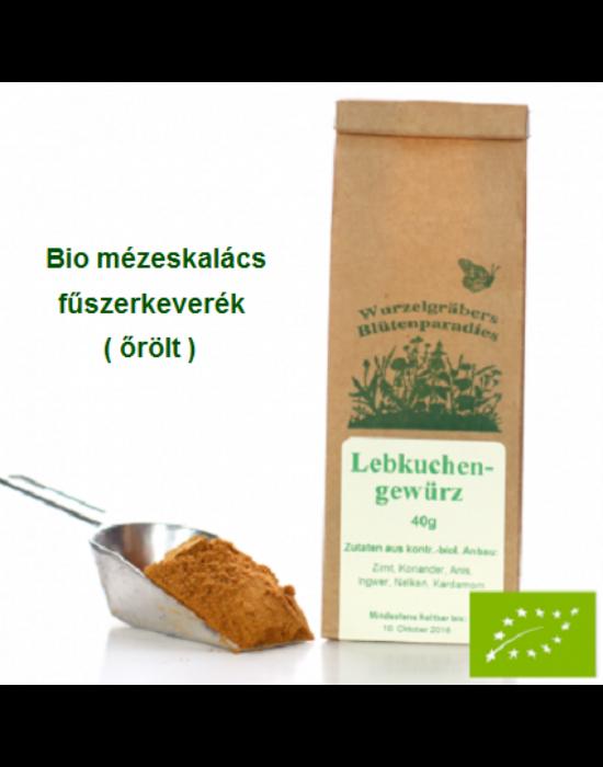 Mézeskalács fűszerkeverék, Bio 40 g Wurdies