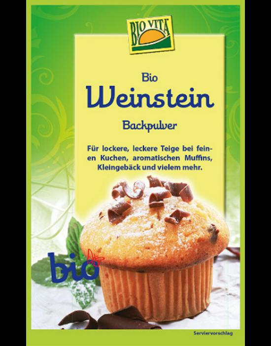 BIO Weinstein sütőpor 25,5 g Biovita Naturkost