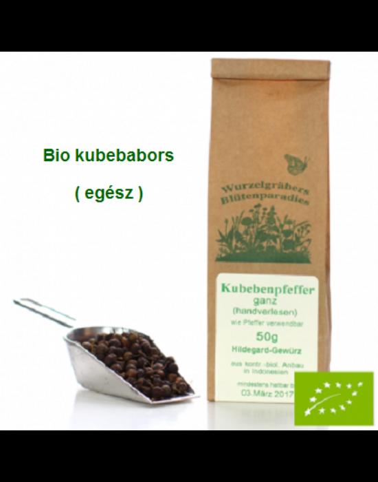 Kubebabors egész Bio 50 gr Wurdies