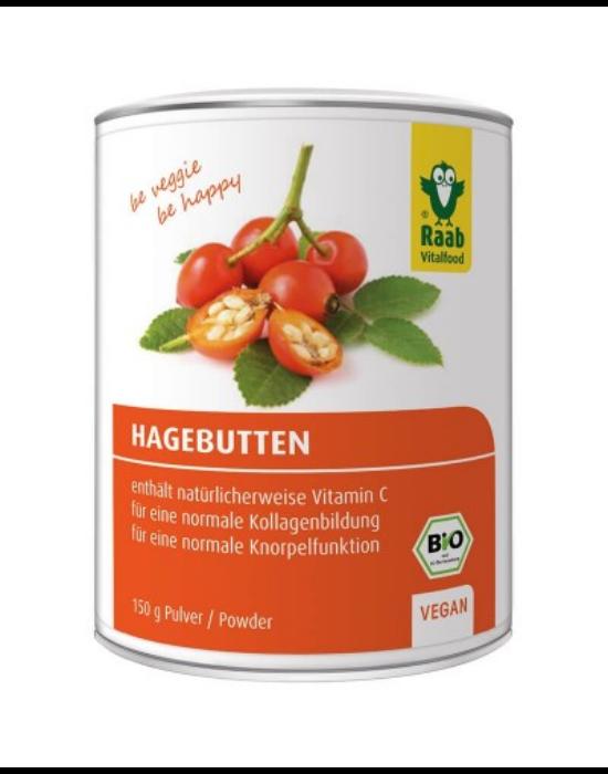 Bio Csipkebogyó por Chiléből 150 g Raab Vitalfood