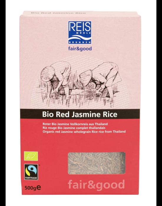 Bio vörös jázmin teljes rizs Thaiföldről 500 g (Fairtrade), Reismühle Svájc