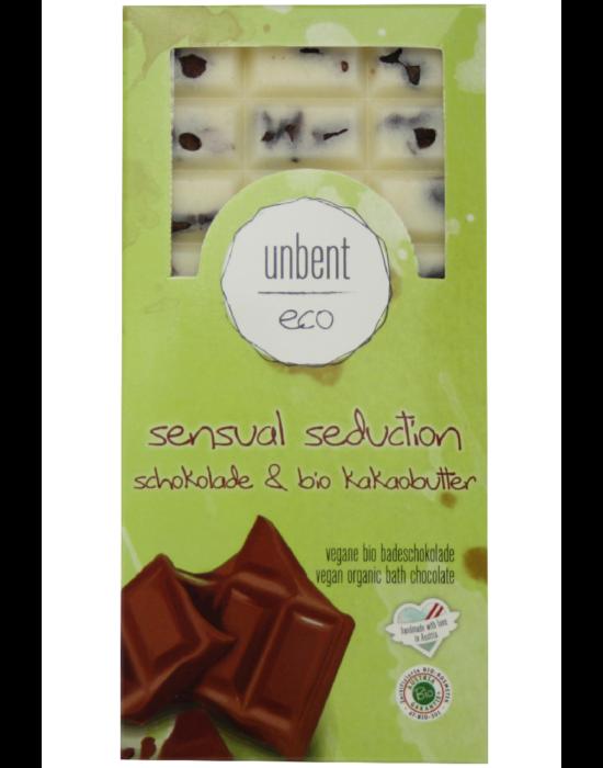 Bio, vegán fürdőkrém csokoládé, krémes forró csoki illattal 110 g Velvety Manufaktur