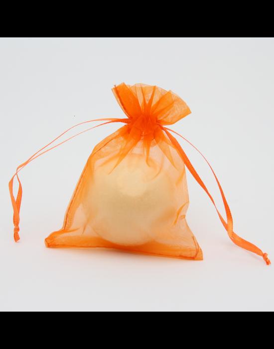 Natúr, vegán fürdőbomba, kicsi, narancs illat 85 g Velvety Manufaktur